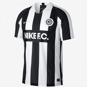 Nike F.C. Home Jersey Just Do It AH9510-100 Black